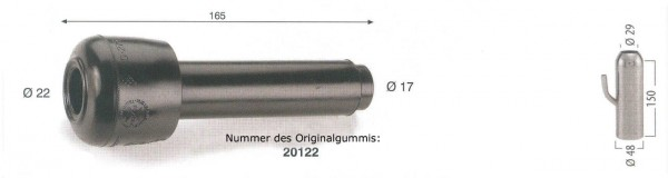 WAHL-Hausmarke FULLWOOD Mod. 20122 - pass. kurz kl Kopf