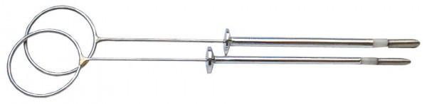 Aesculap Zitzenräumer 3mm - vernickelt, nach