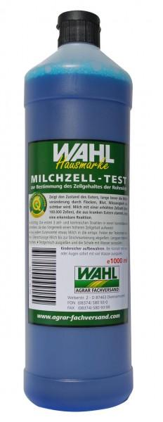WAHL-Hausmarke Milchzelltest blau, 1l
