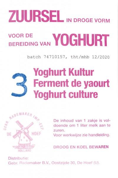 Milky Joghurtkultur, 3 Stück