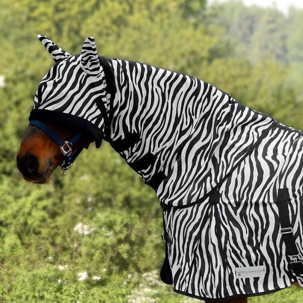 Waldhausen Fliegenhalsdecke Zebra