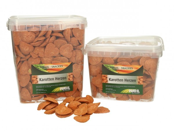 WAHL-Hausmarke Karotten Herzen - ca. 2,5 kg