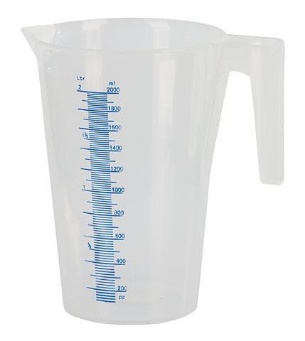 Messbecher 2 Liter