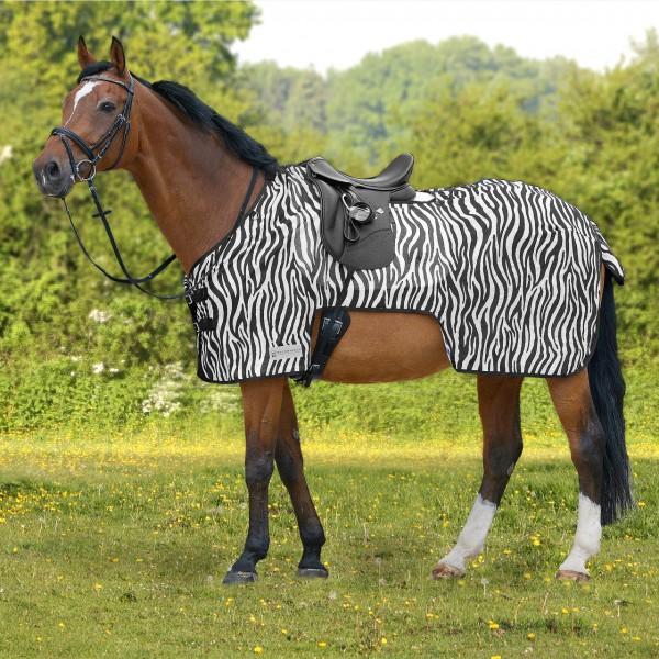 Waldhausen Fliegenausreitdecke Zebra