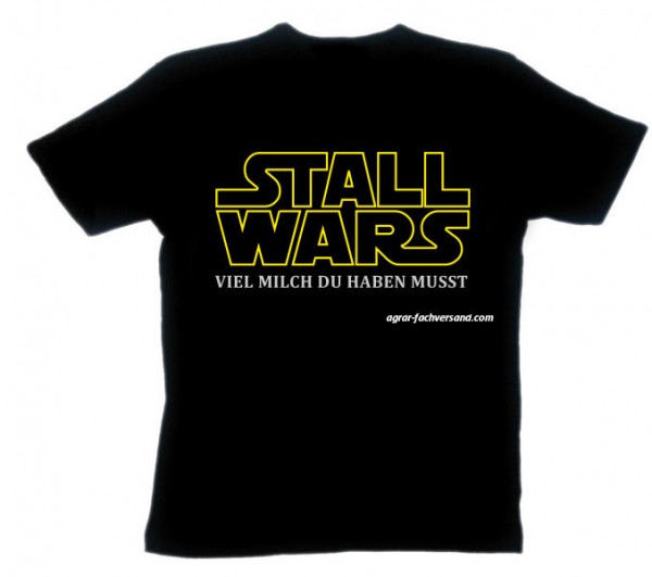 T-SHIRT 'Stall Wars'