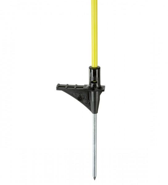Oval-Fiberglaspfahl 110 cm, 10 Stück