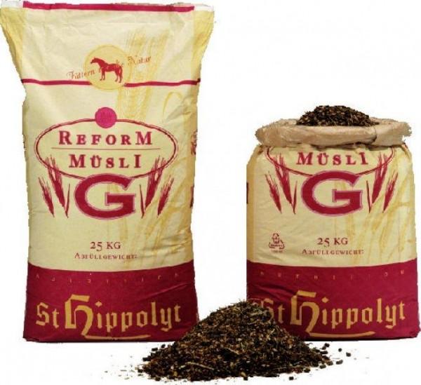 St. Hippolyt Reformmüsli G - Pferdefutter 20 kg
