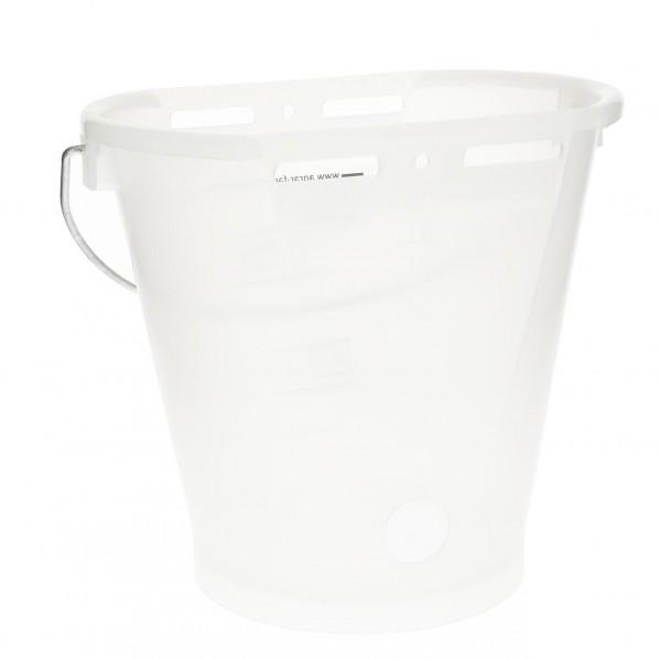 Hiko Kälbertränkeeimer Kunststoff,transparent