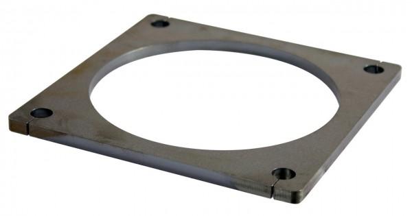 Flanschplatten roh 8'', Stärke 8mm