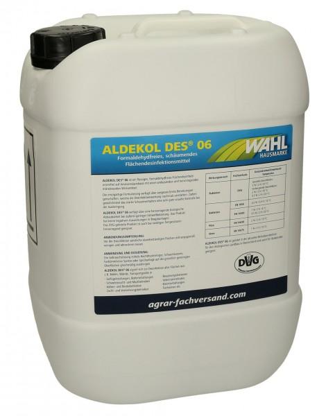 WAHL-Hausmarke ALDEKOL DES 06 Flächendesinfektion 10 kg