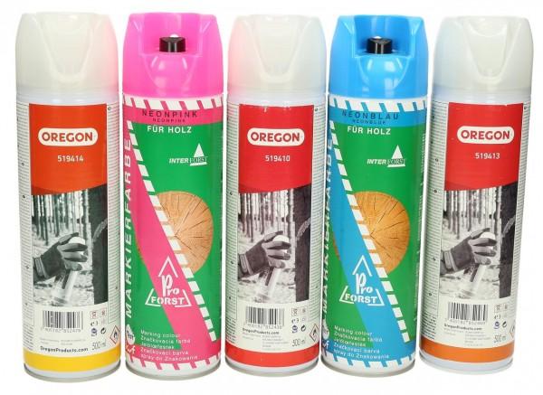 Farbmarkierungsspray Forst Neonfarben