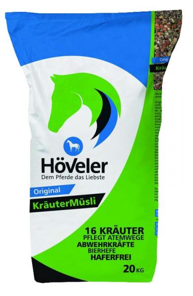 Höveler Kräuter Müsli - Pferdefutter 20 kg